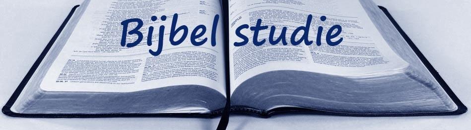 Bijbelstudie door Frank Ouweneel