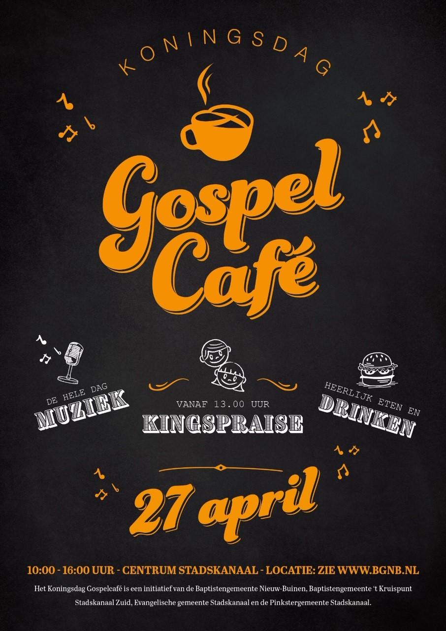 Gospel Café 27 april
